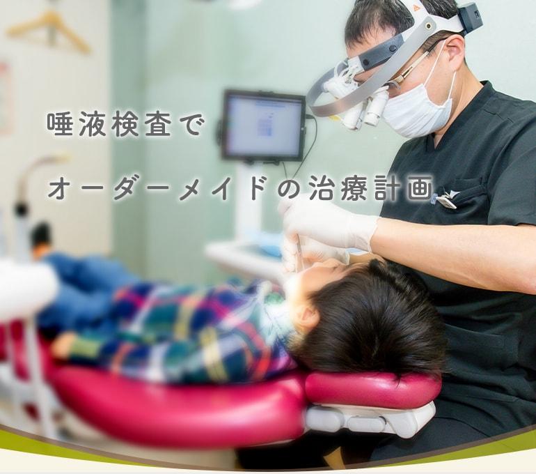 唾液検査でオーダーメイドの治療計画
