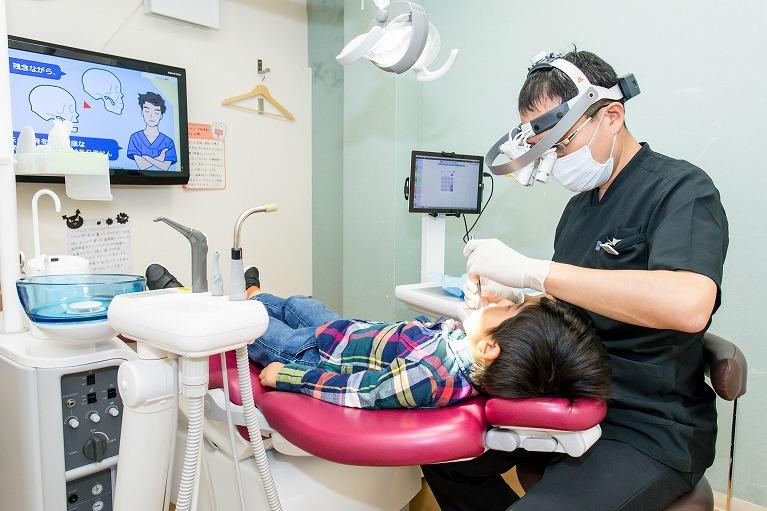 痛みの少ない、できるだけ削らない虫歯治療