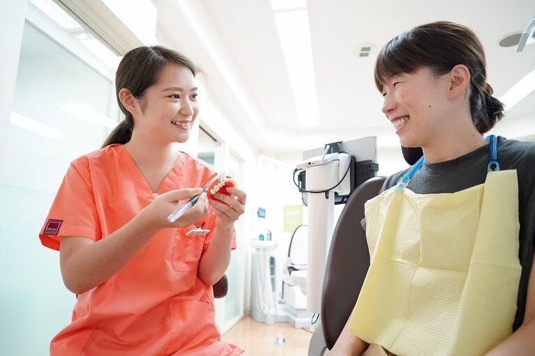 定期的に歯科医院に通いましょう