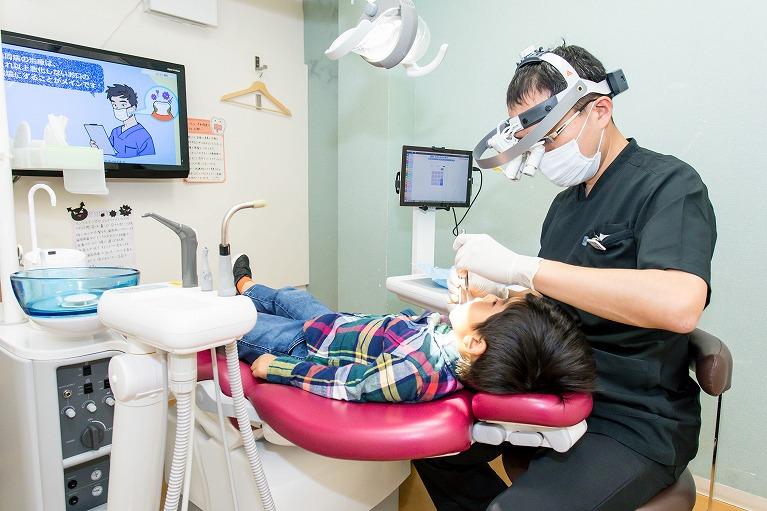 虫歯の早期発見が痛みの少ない治療につながります